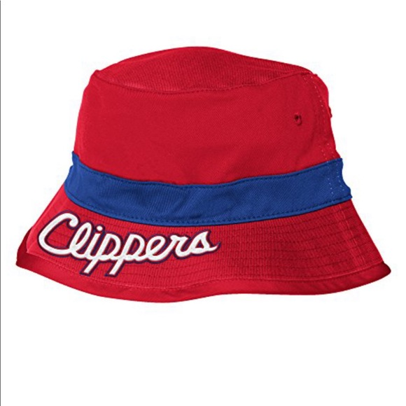 84f5479b1 NBA Los Angeles Clippers Adidas Bucket Hat NWT